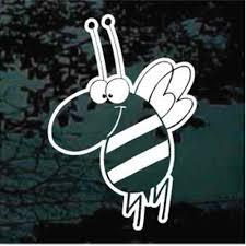 Queen Bee Car Window Decals Stickers Decal Junky