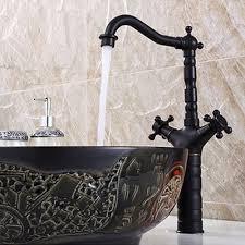 bathroom sink vessel faucet oil rubbed