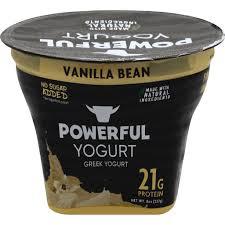 yogurt yogurt greek vanilla bean