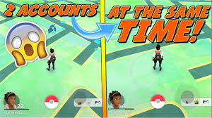 Play Pokemon GO with 2 Accounts AT THE SAME TIME!