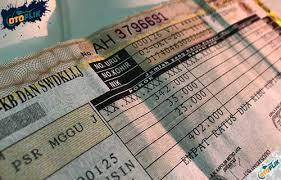 biaya denda telat bayar pajak motor
