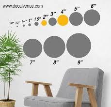 Olive Green Metallic Copper Polka Dot Circles Wall Decals Polka Dot Circles Decalvenue Com Decal Venue