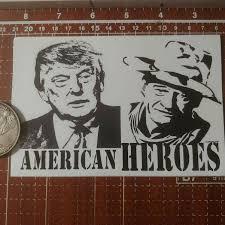 President Trump Removable 4in By 4in Vinyl Bumper Window Sticker 99cents Each For Sale Online Ebay