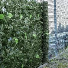 Woodside Artificial Maple Leaf Screening Hedge Roll Woodside Products