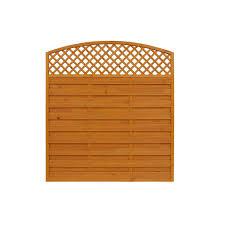 Union Rustic Hudgins 6 X 6 1 95m X 1 8m Horizontal Weave Fence Panel Wayfair Co Uk