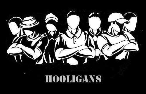 """Image result for hooligans silhouette"""""""