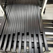 China Black Powder Coated Aluminium Galvanized Steel Flat Top Spear Top Picket Security Pool Garden Fencing For Home Villa Commercial Place Fence Post China Fence Pool Fence