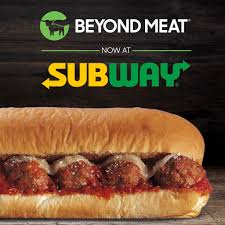 subway and beyond meat team up to