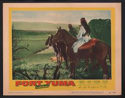 "Amazon.com: MOVIE POSTER: Fort Yuma 11""x14"" Lobby Card Abel Fernandez FN:  Entertainment Collectibles"