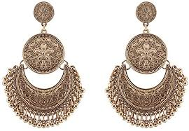 vintage bohemian chic dangle earrings