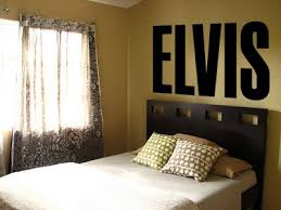 Elvis Big Letters Vinyl Wall Art Decal Wall Words Home Decor
