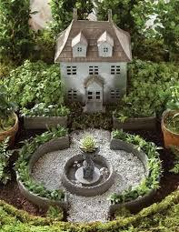 miniature french cau fairy garden