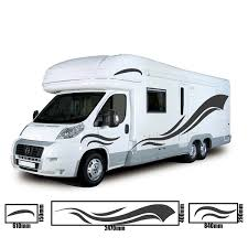 2m Motorhome Vinyl Graphics Stickers Decals Set Camper Van Rv Caravan Horsebox Archives Midweek Com