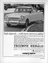 triumph s herald an advance in more