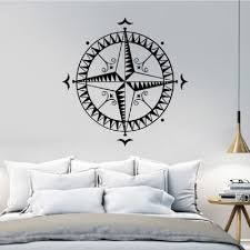Dropshipping For Dsu Compass Home Decorative Wall Sticker Removable Kids Room Vinyl Decal The World Map Compass Decal Art Mural Navigation To Sell Online At Wholesale Price Dropship Website Chinabrands Com