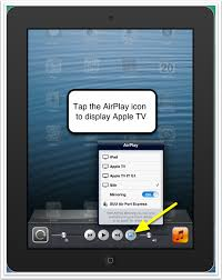 airplay mirroring from ipad iphone