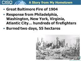 Image result for origin of 1904 The Great Baltimore Fire