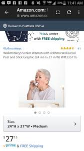Because Grandma Having An Asthma Attack Is Exactly The Wall Art I Ve Been Looking For Imgur