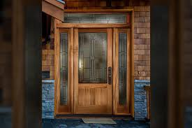 decorative glass patio doors