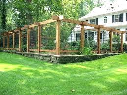 vegetable garden ideas on fence designs