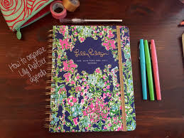 how to organize: lilly pulitzer agenda ...