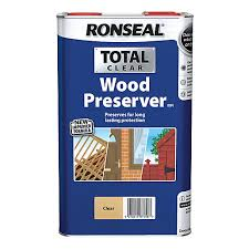 Ronseal Total Wood Preserver Clear 5l Wickes Co Uk