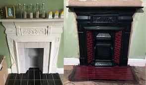 fireplace restoration ward antique