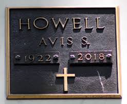 Avis S. Howell (1922-2018) - Find A Grave Memorial