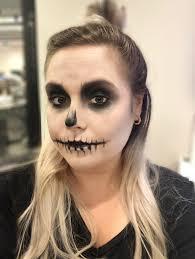 easy skull makeup tutorial is so simple