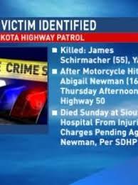 Driver, motorcyclist identified in fatal Yankton crash   KMEG