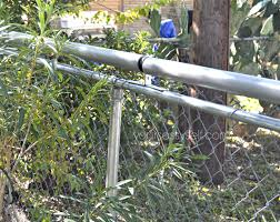 Roll Bar Fence Diy Keep Your Pets In Others Out Your Sassy Self Diy Dog Fence Dog Proof Fence Cat Fence