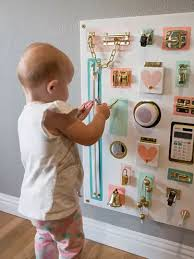 How To Make Adorable Toddler Busy Boards Without Power Tools