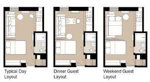 studio apartment layout ideas home