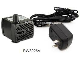 fountain pumps and light replacements