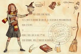 Hermione Harry Potter Themed Birthday Card Harry Potter Hermione