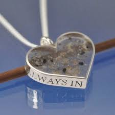cremation ash pendant with images