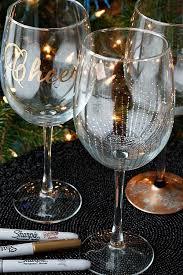 diy wine glasses wine