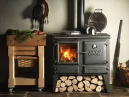 solid fuel cooking wood burning stove