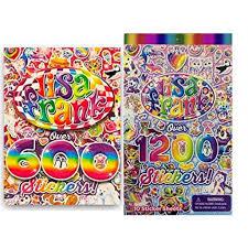 Lisa Frank 600 Stickers And 1200 Stickers Walmart Com Walmart Com