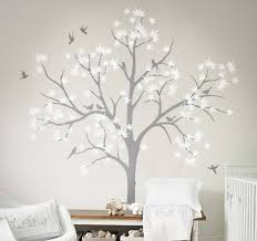 Large Nursery Wall Decoration White Tree Wall Decals Diy Home Wall Decor Art Tree Sticker Living Room Bedroom Mural Ny 195 White Tree Wall Decal Tree Wall Decaltree Sticker Aliexpress