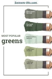 popular green paint colors green