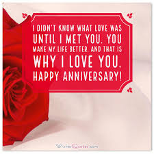 new wedding anniversary message wish marriage quote for husband