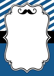 Mustache Invitation 2 Jpg 1000 1400 Invitaciones De Bigote
