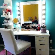 black makeup desk dresser bedroom