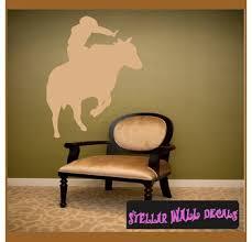 Bull Riding Cowboy Rodeo Sport Vinyl Wall Decal Wall Sticker Car Sticker Rodeost006 Swd