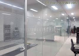 interior office glass wall nice on