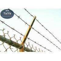 Single Support Barbed Wire Fence Post On Chain Link Fence V Or Y Shape 109573218