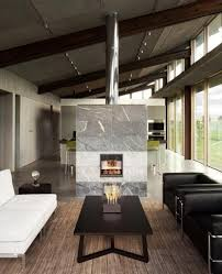 25 two sided modern fireplaces working