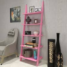 leaning bookcase ladder