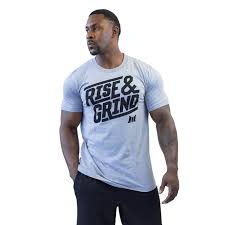 rise and grind tee muscle club